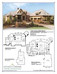 Gardner Architects Picturesque Hollowcrest House Plan Extraordinary Home The By