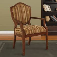 beautiful wooden arm chair in interior design for home with wooden