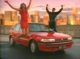toyota corolla commercial corolla commercial 1992
