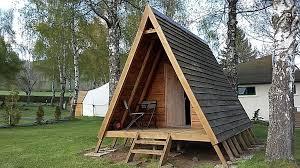 wooden tent cing les volcans wooden tent 2p