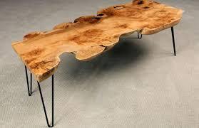 Redwood Dining Table Redwood Coffee Table Figured Redwood Coffee Table Live Edge