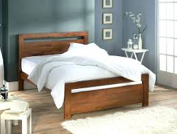 King Size Wood Bed Frames Simple Wooden Bed Frame Modern Oak Beds Contemporary Wooden Rustic