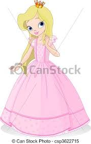 clipart vector beautiful princess cute beautiful