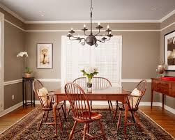 dining room color schemes chair rail for kitchen paint ideas