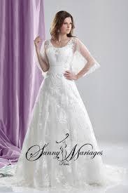 robe de mariã e avec dentelle robe de mariée princesse manche et coupe a line en dentelle