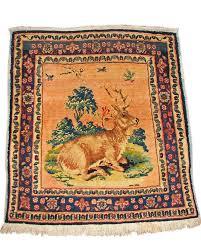 Kashan Persian Rugs by Persian Kashan Pictorial Rug Rr328 Joenevo