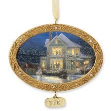 kinkade single ornaments at treasures