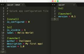 create your first app quick start splunk