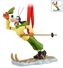 goofy skiing ornament 2010 from our collection