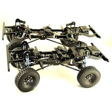 electric 4x4 vehicle the build rc d90 v2 1 10 scale defender chassis fully cnc metal