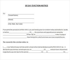 30 eviction notice form 30 60 day notice to vacate free eviction