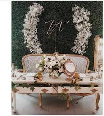 wedding backdrop initials touchstone s bridal show booth decor at the today s