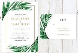 palm tree wedding invitations top 20 invitations design from etsy for wedding 2018 woods and fairy