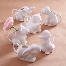 elephant vase ceramic dog shaped milk jug milk jugs animal and interiors