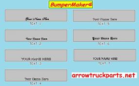 bumpermaker ford l8000 u0026 l9000 bumper