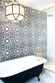 wallpapered bathrooms ideas bathroom wallpaper ideas home gorgeous wallpapered bathrooms