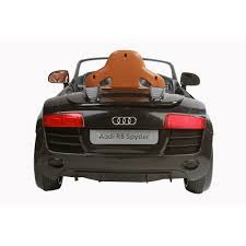 vs sports car video toy rollplay audi r8 spyder 6 volt battery powered ride on walmart com