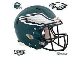 philadelphia eagles home decor philadelphia eagles helmet wall decal shop fathead for