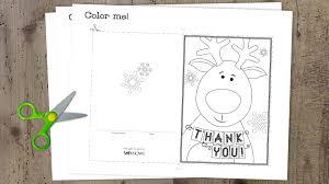 free printable christmas cards kids color christmas