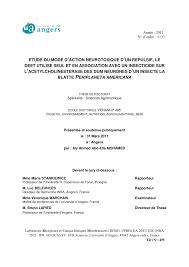 cuisine mol ulaire sph ification etude du mode d neurotoxique d un pdf available