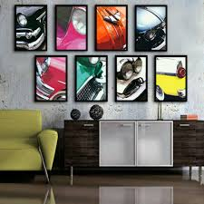 popular framed cars wall art buy cheap framed cars wall art lots