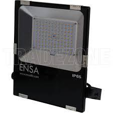 50 watt led flood light ensa 50 watt led floodlight warm white 3000k ip65 5500lm black