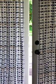 Halloween Fabric Panels by Diy French Door Curtain Panel Tutorial Pretty Prudent