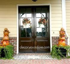 double front door wreath ideas door handles and double door