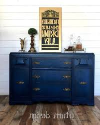 Blue Console Table Solddark Blue Painted Wine Bar Buffet Navy Tv Console Navy Console