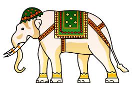 free illustration elephant indian animal design free image