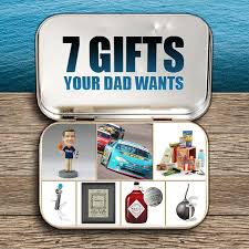 gifts dad really want and no ties are not on this list http
