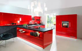 Peinture Rouge Cuisine by Cuisine Indogate Cuisine Rouge Peinture Mur Faience Gris Et