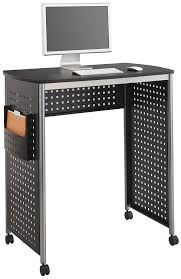 Computer Desk Amazon Com Safco Products 1908bl Scoot Stand Up Computer