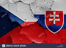 Slovak Flag Czech Republic And Slovakia Flag Stockfotos U0026 Czech Republic And