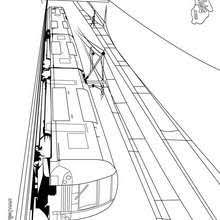 steam locomotive engine coloring pages hellokids