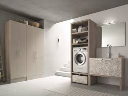 laundry room cabinet with sink for washing machine lavanderia 01