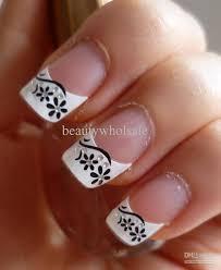 nail sticker 3d french nail art sticker nail care sticker 100pcs