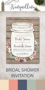 etsy wedding shower invitations best 25 rustic bridal shower invitations ideas on