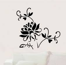 Wall Flower Decor by Online Get Cheap Red Flower Wall Decor Aliexpress Com Alibaba Group