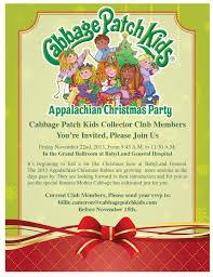 appalachian christmas party babyland general