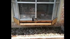 bay window repair youtube bay window repair