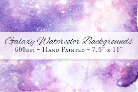 galaxy watercolor ombre backgrounds textures creative market