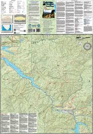Maps Oregon by Oakridge Oregon Trail Map Adventure Maps