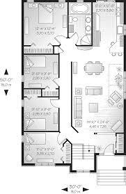 One Story Four Bedroom House Plans One Floor Bedroom House Blueprints With Design Photo 57265 Fujizaki