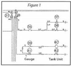 fuel gauge problems north american mga register namgar