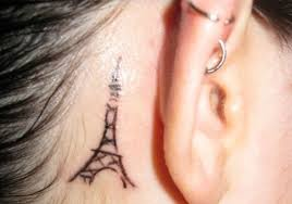 31 subtle behind the ear tattoos for 2013 creativefan