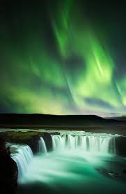 when are the northern lights visible in iceland dancing over goðafoss the most magnificent display of northern