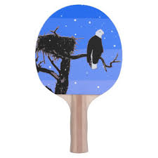 winter ping pong paddles table tennis paddles zazzle