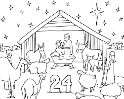 advent calendar coloring pages getcoloringpages