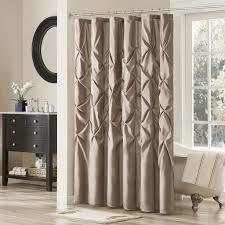 Fabric Shower Curtain With Window Designer Curtain Rods Curtains Shower Curtains